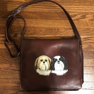 Vintage hand painted purse